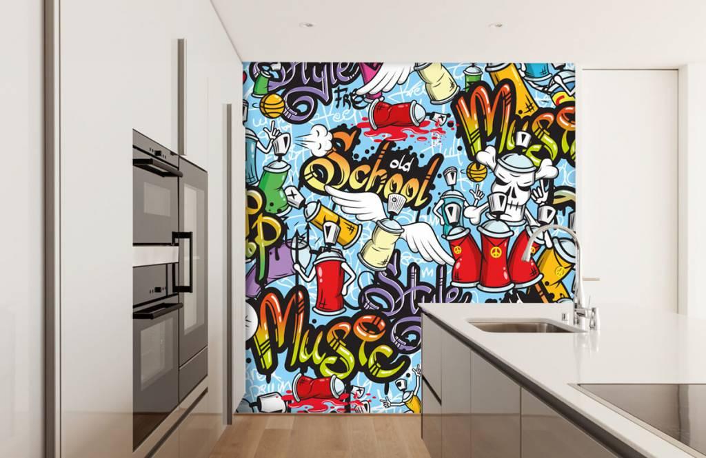 Barn tapeter Olika musikstilar 4