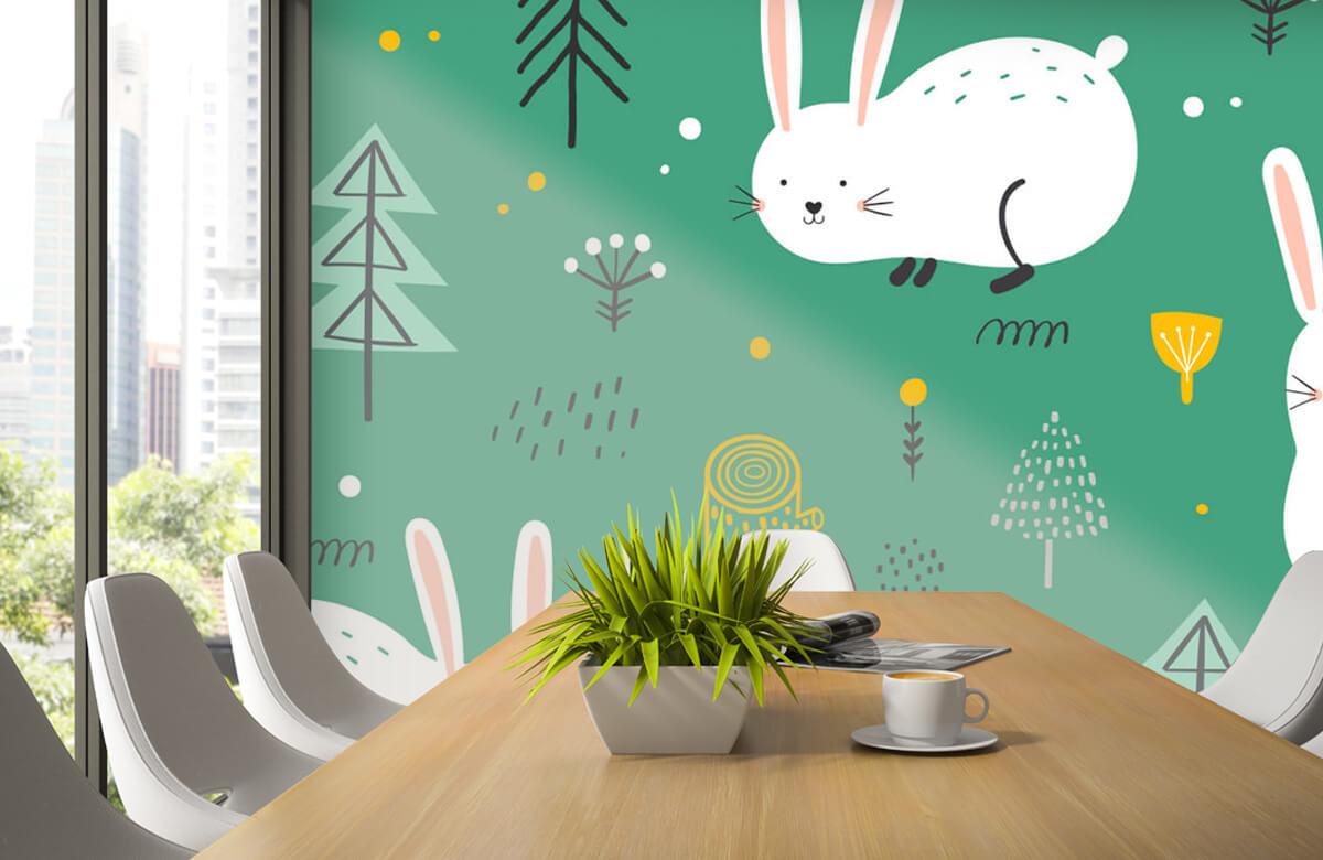 Pattern Mönster av kaniner 5