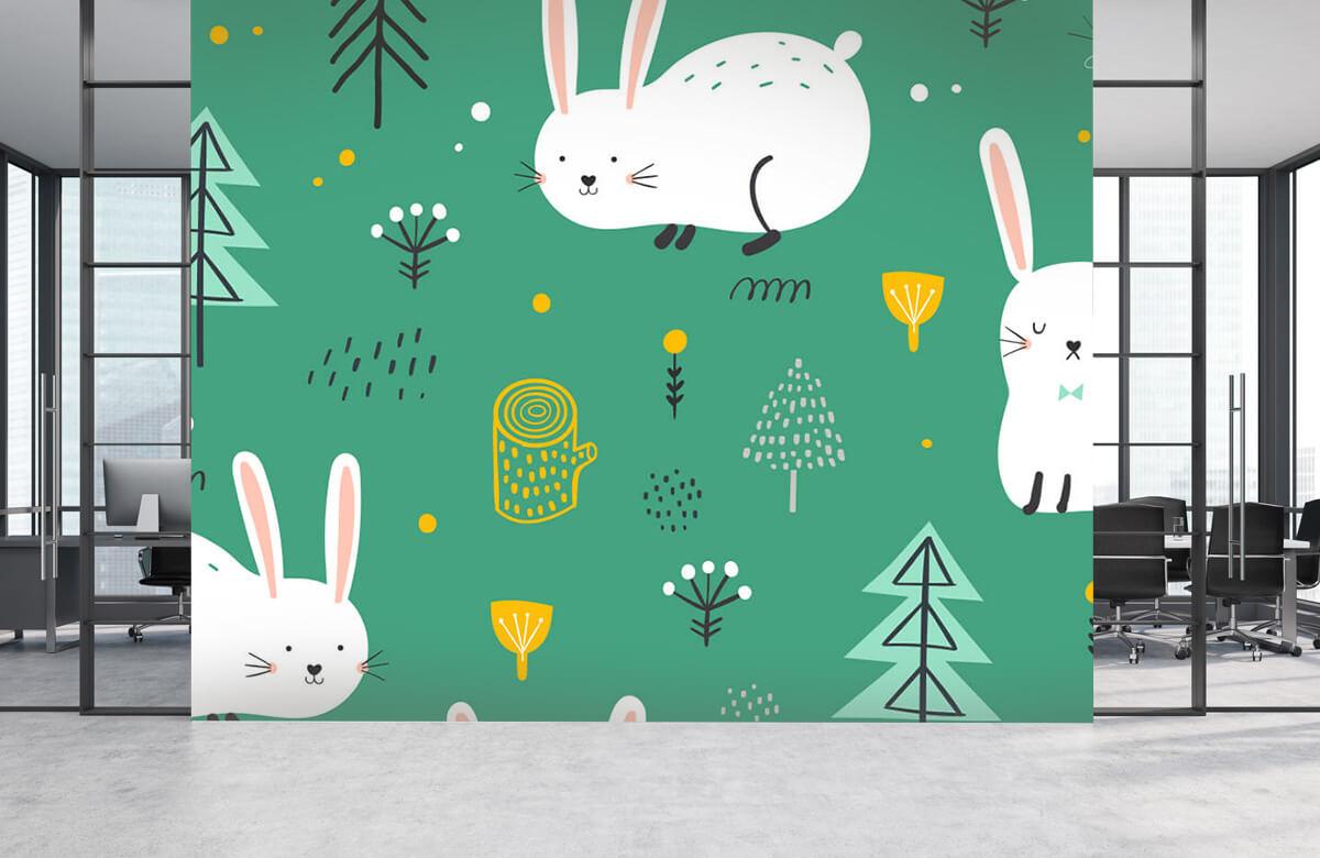 Pattern Mönster av kaniner 6