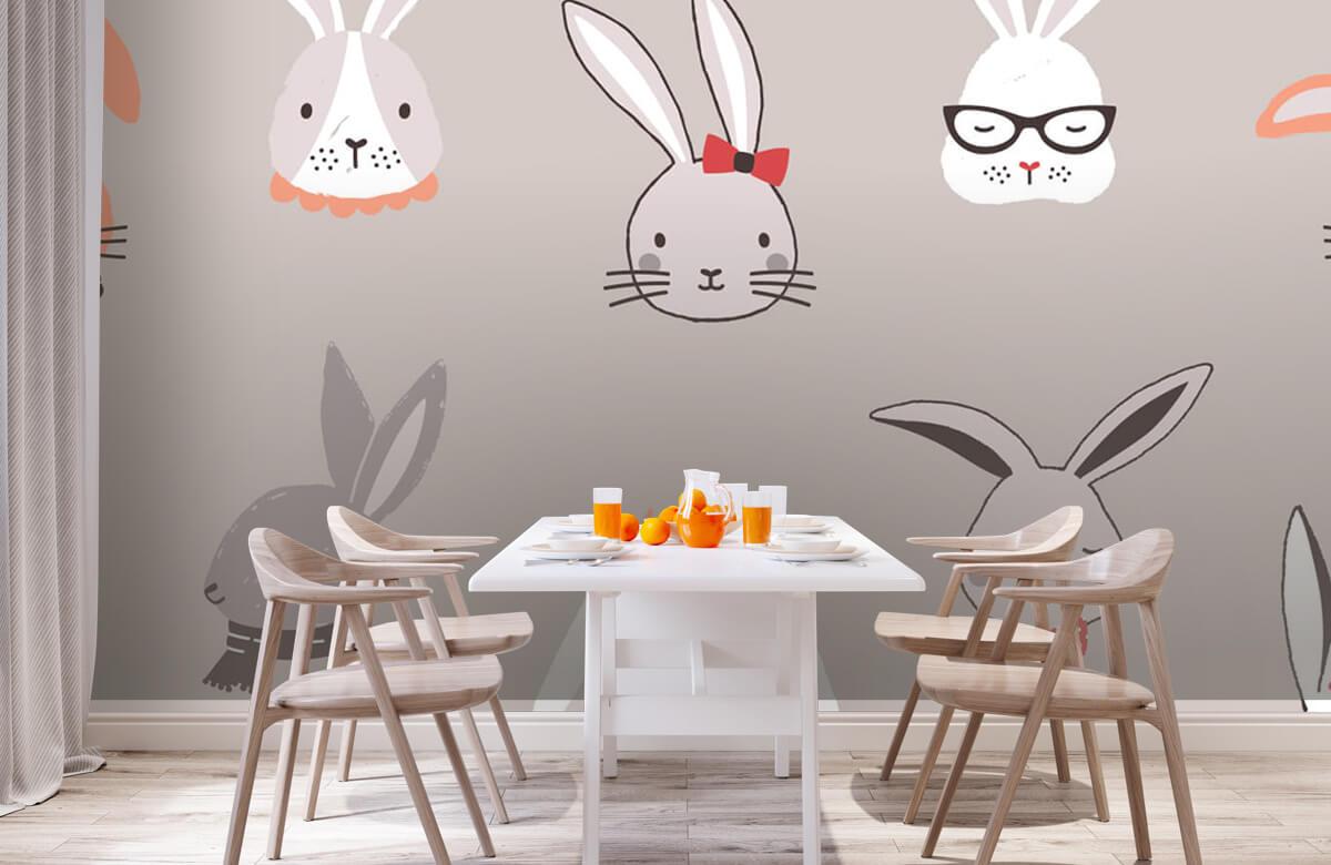 Pattern Kaninmönster 3