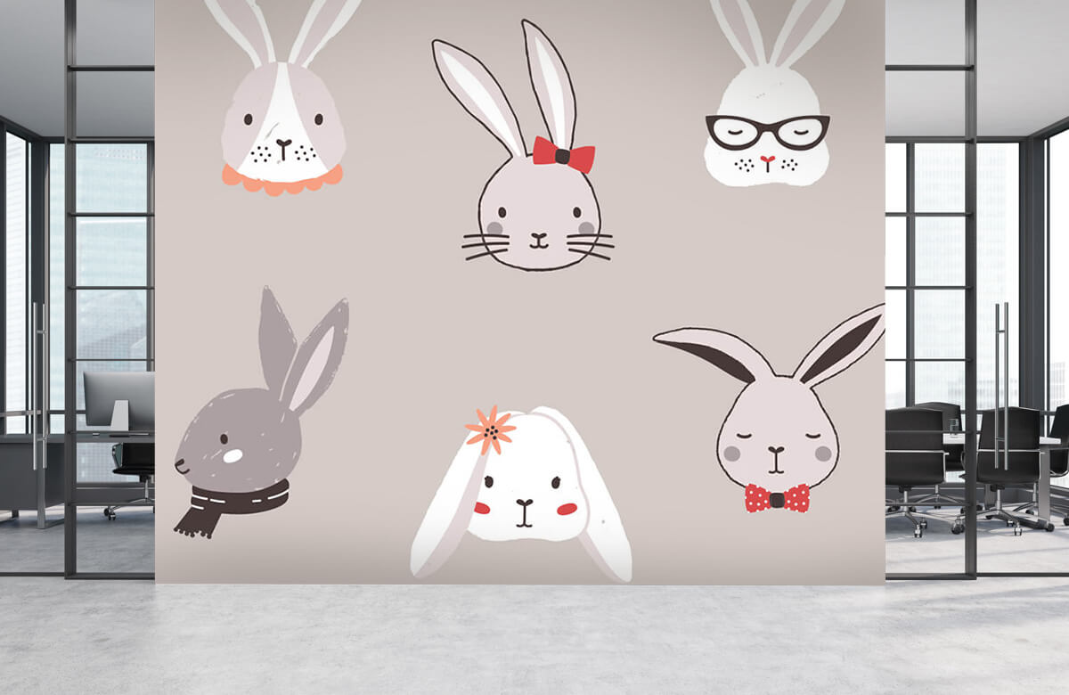 Pattern Kaninmönster 4