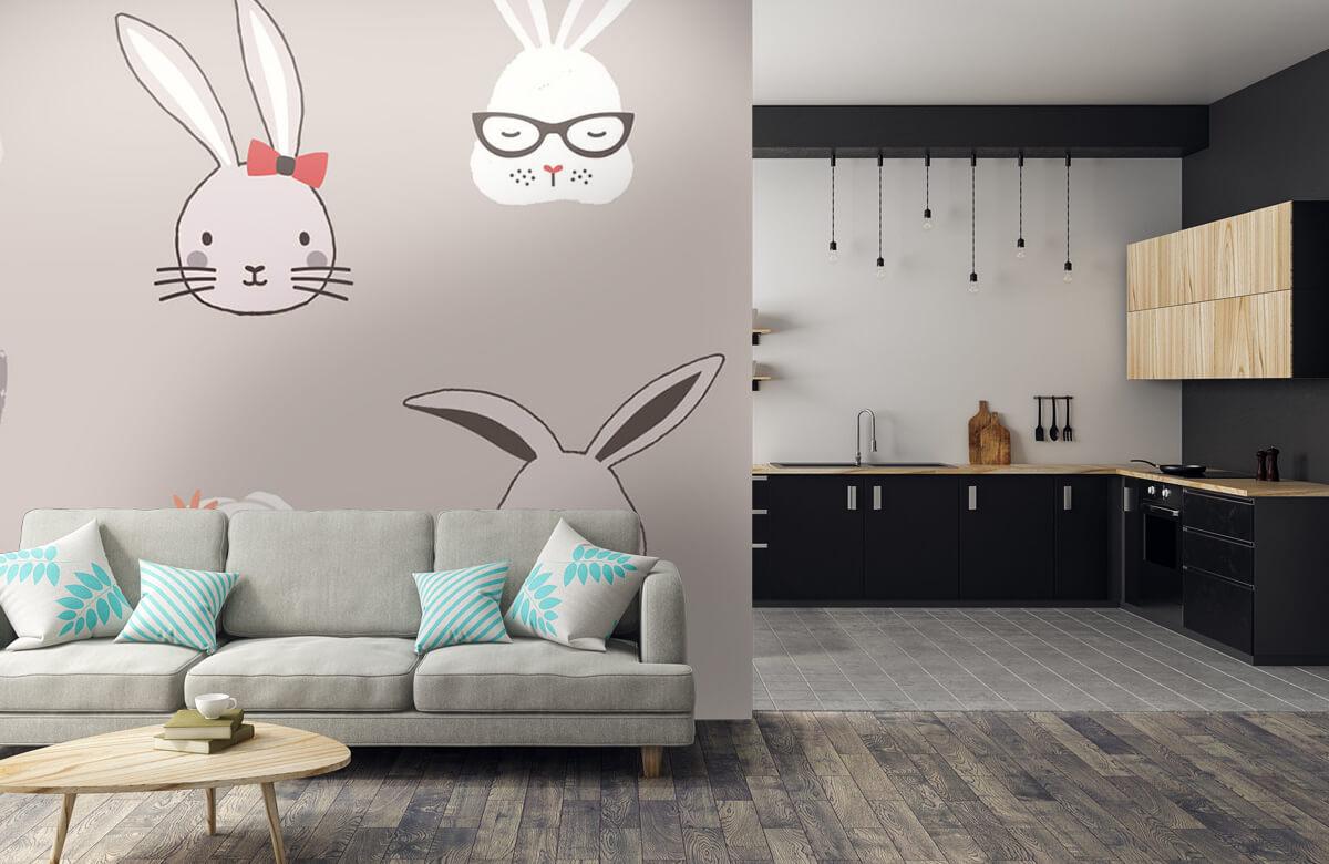 Pattern Kaninmönster 7