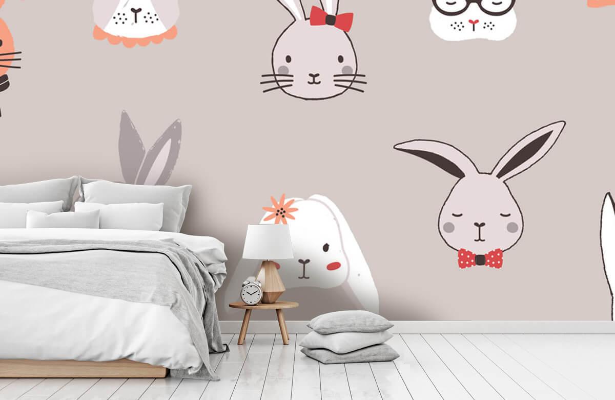 Pattern Kaninmönster 8