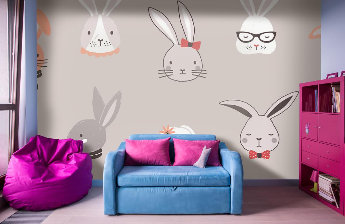 Pattern Kaninmönster 1