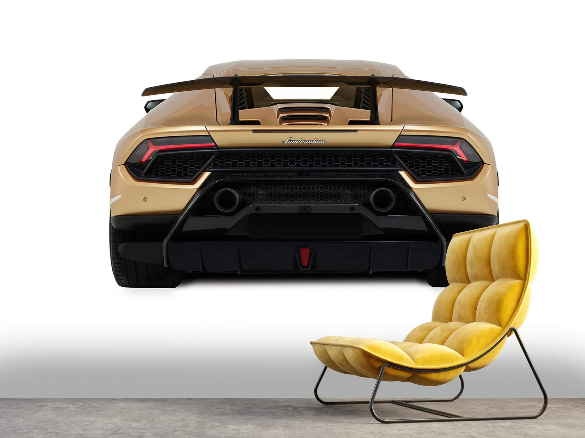 Wallpaper Lamborghini Huracán - Bak, vit 10