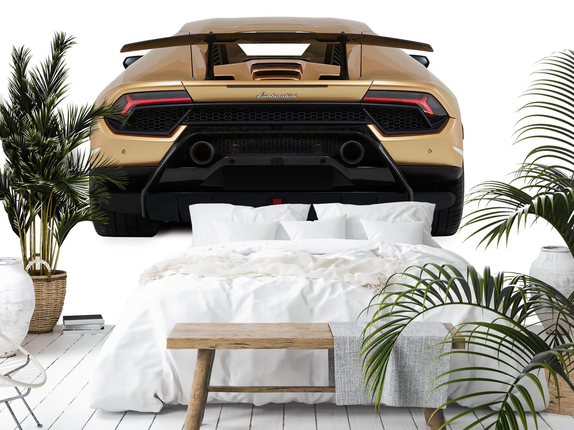 Wallpaper Lamborghini Huracán - Bak, vit 12