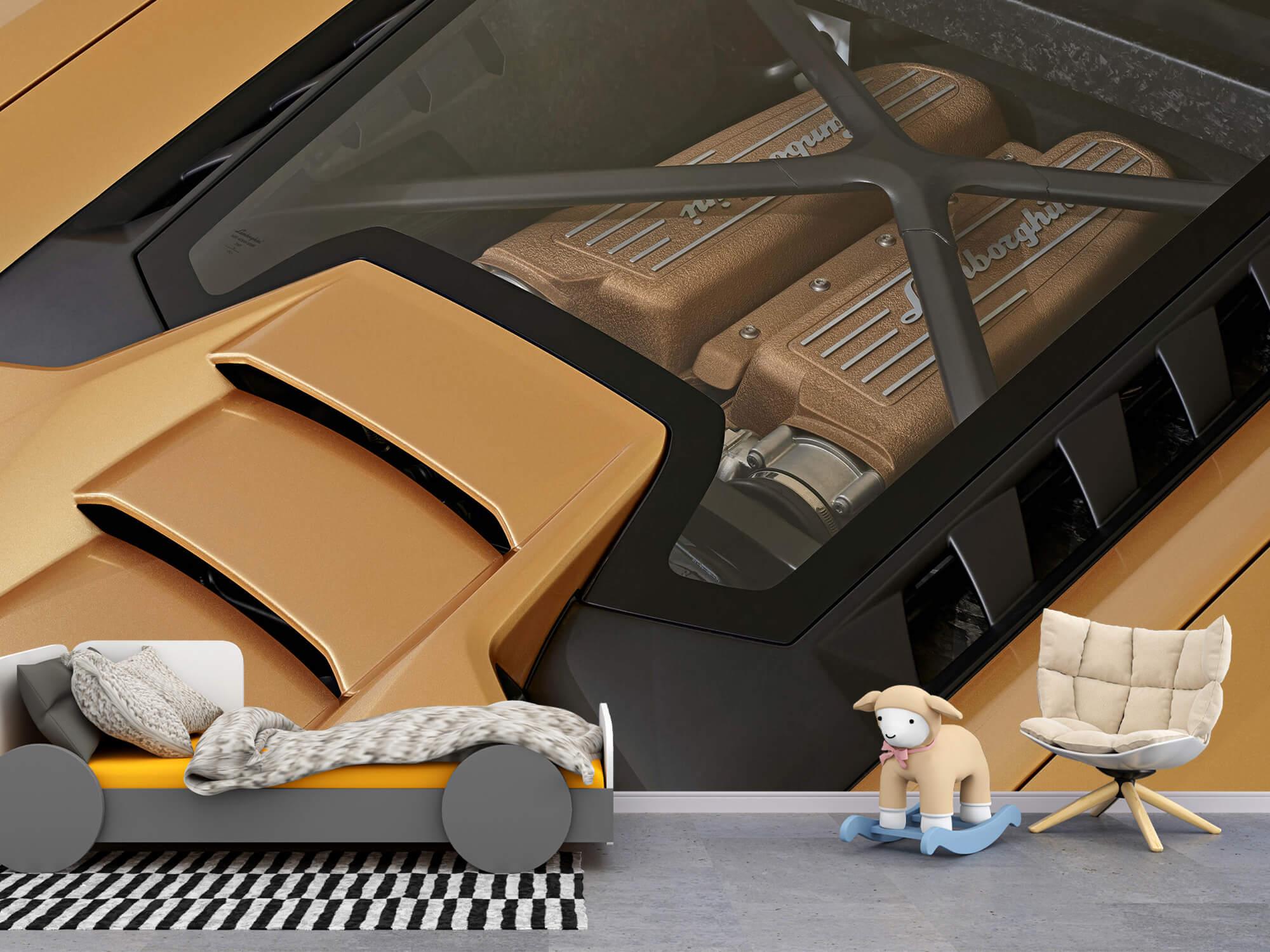 Wallpaper Lamborghini Huracán - Motor 3