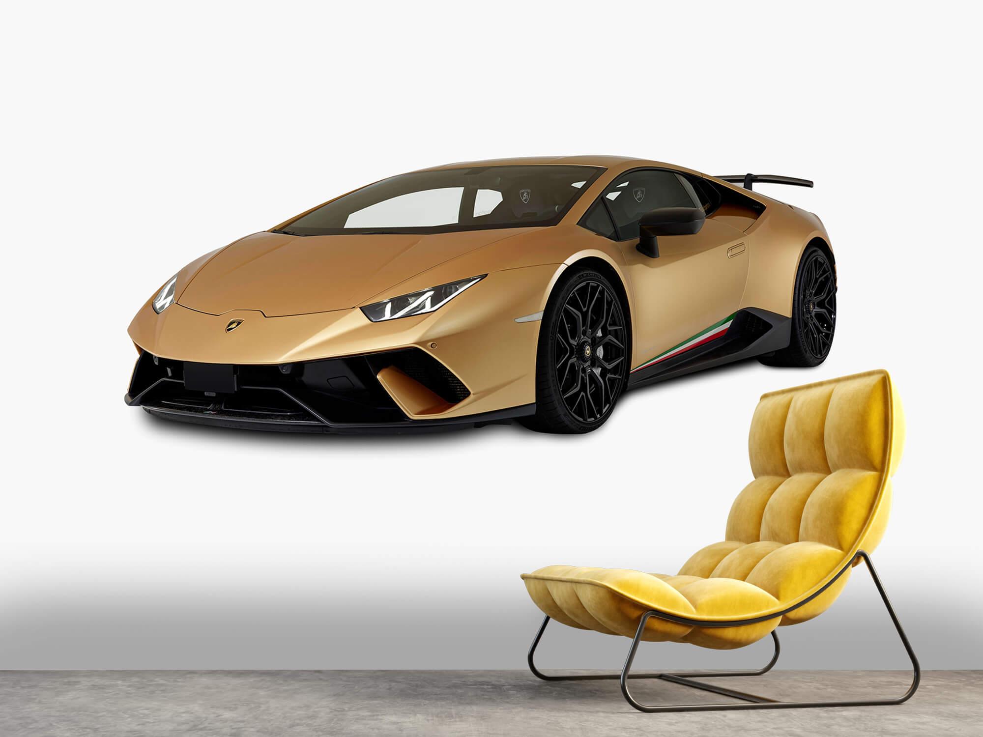 Wallpaper Lamborghini Huracán - Höger fram vit 7