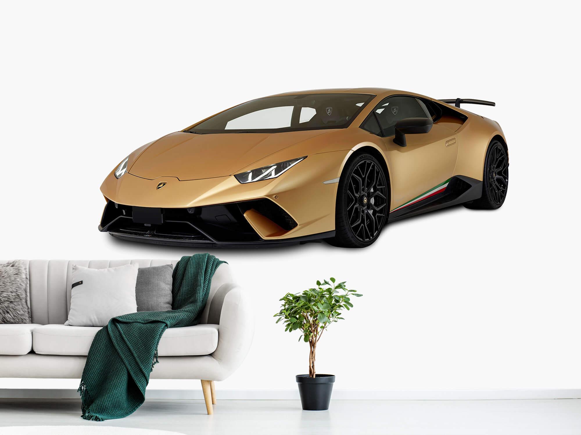 Wallpaper Lamborghini Huracán - Höger fram vit 11