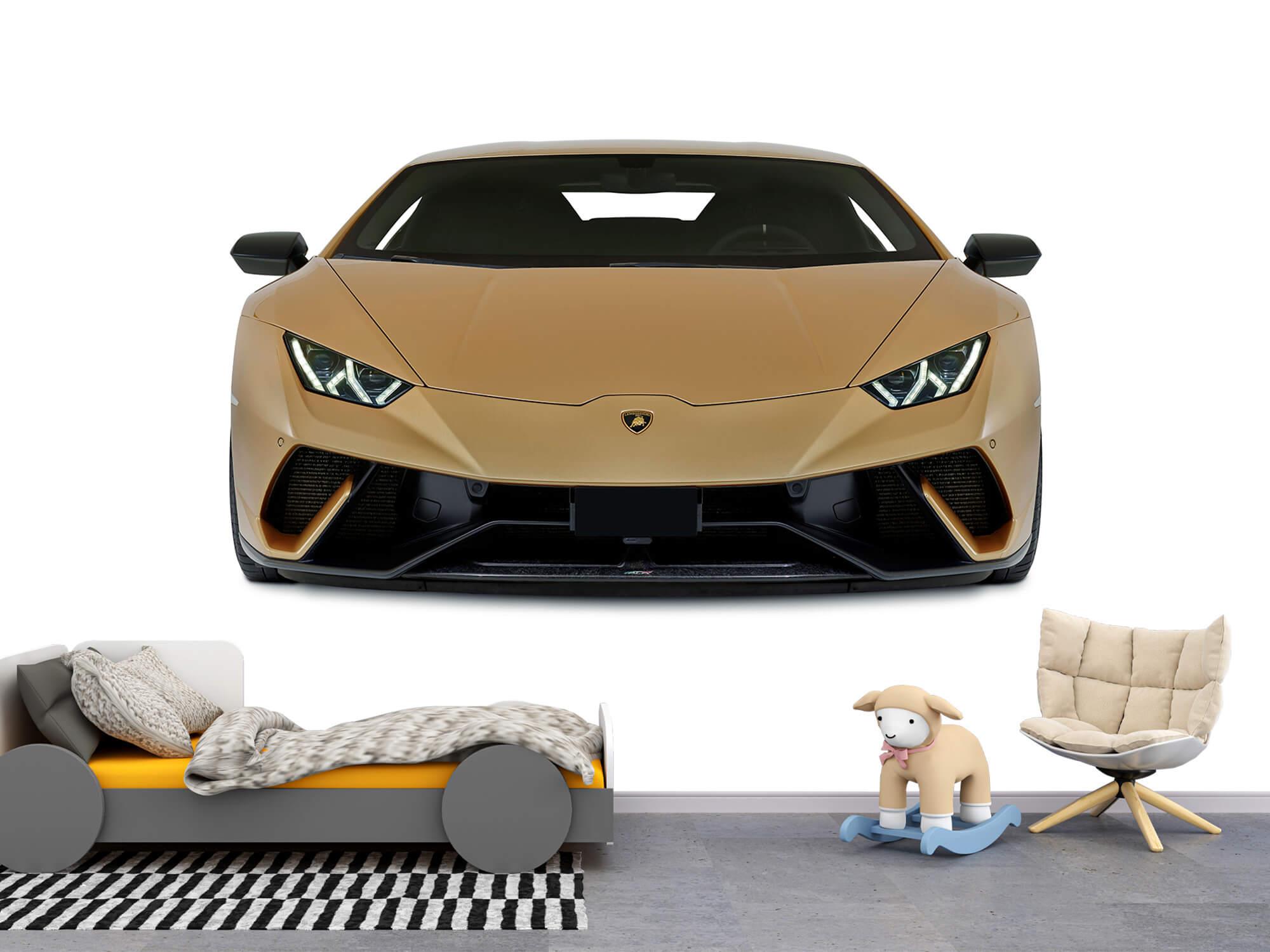 Wallpaper Lamborghini Huracán - Framsida, vit 4