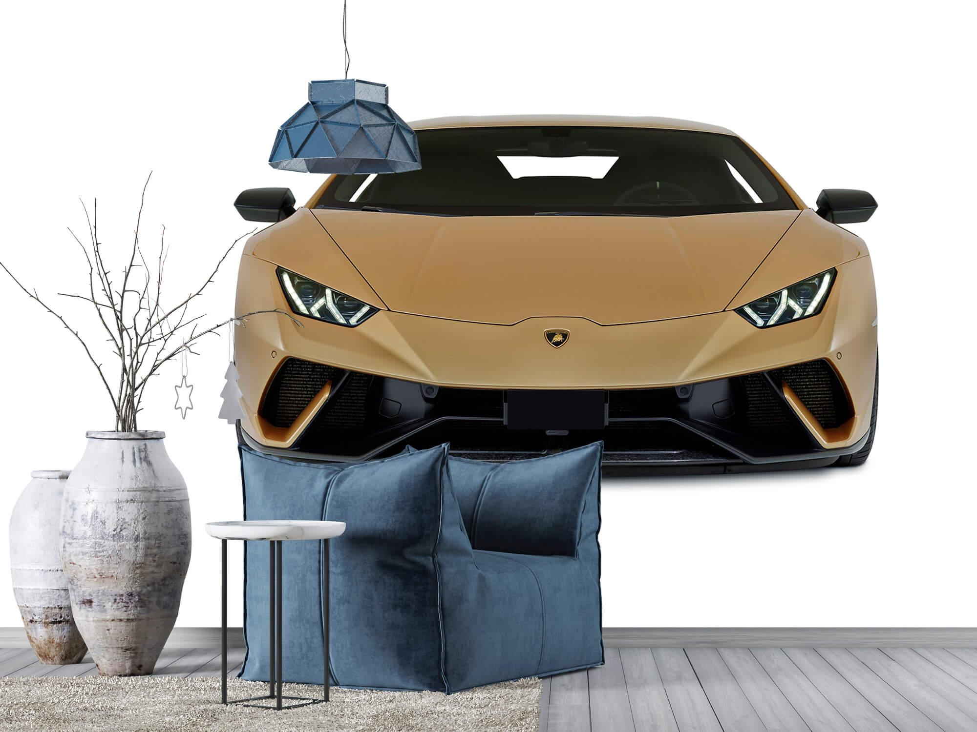 Wallpaper Lamborghini Huracán - Framsida, vit 5