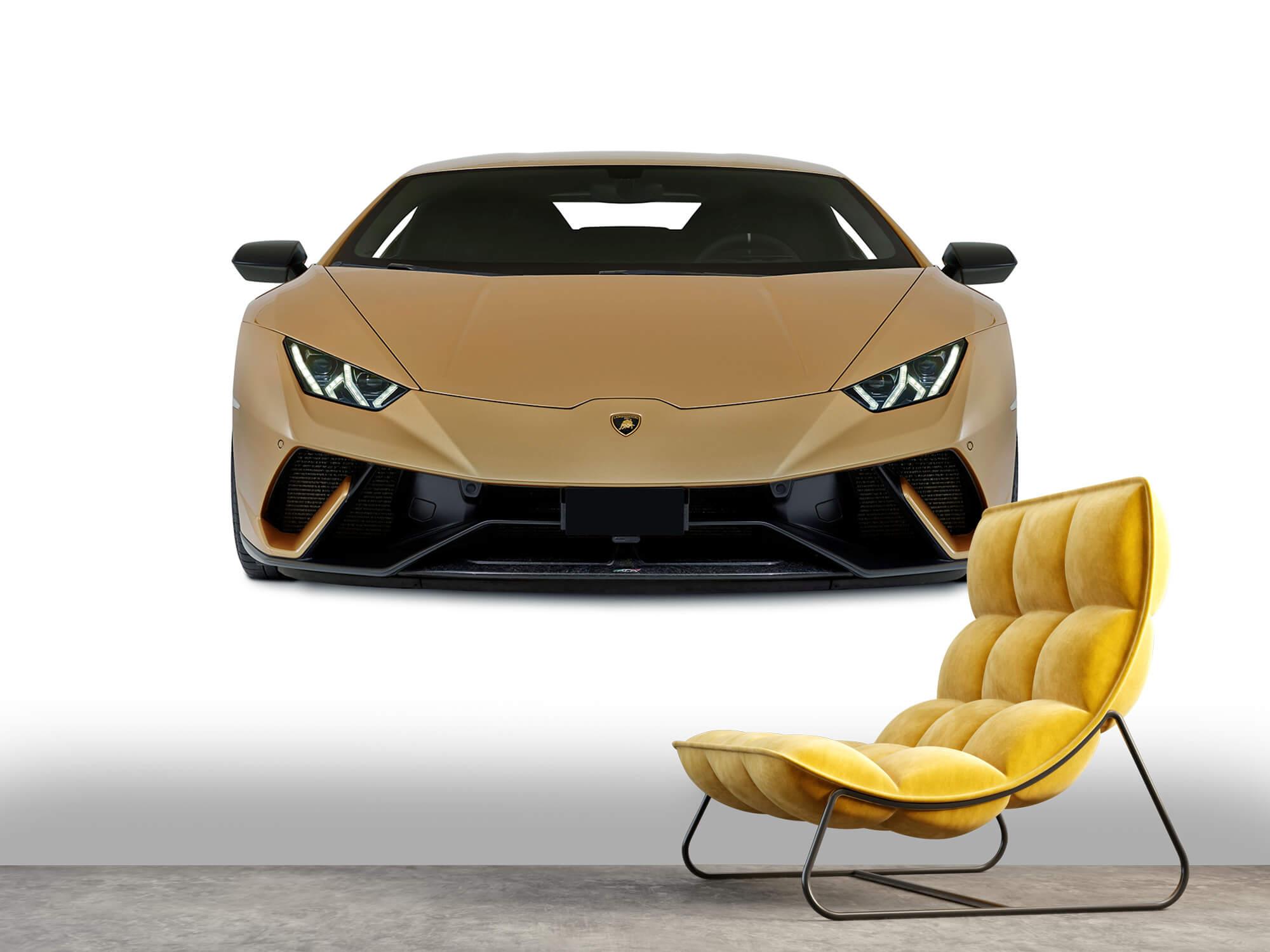 Wallpaper Lamborghini Huracán - Framsida, vit 6