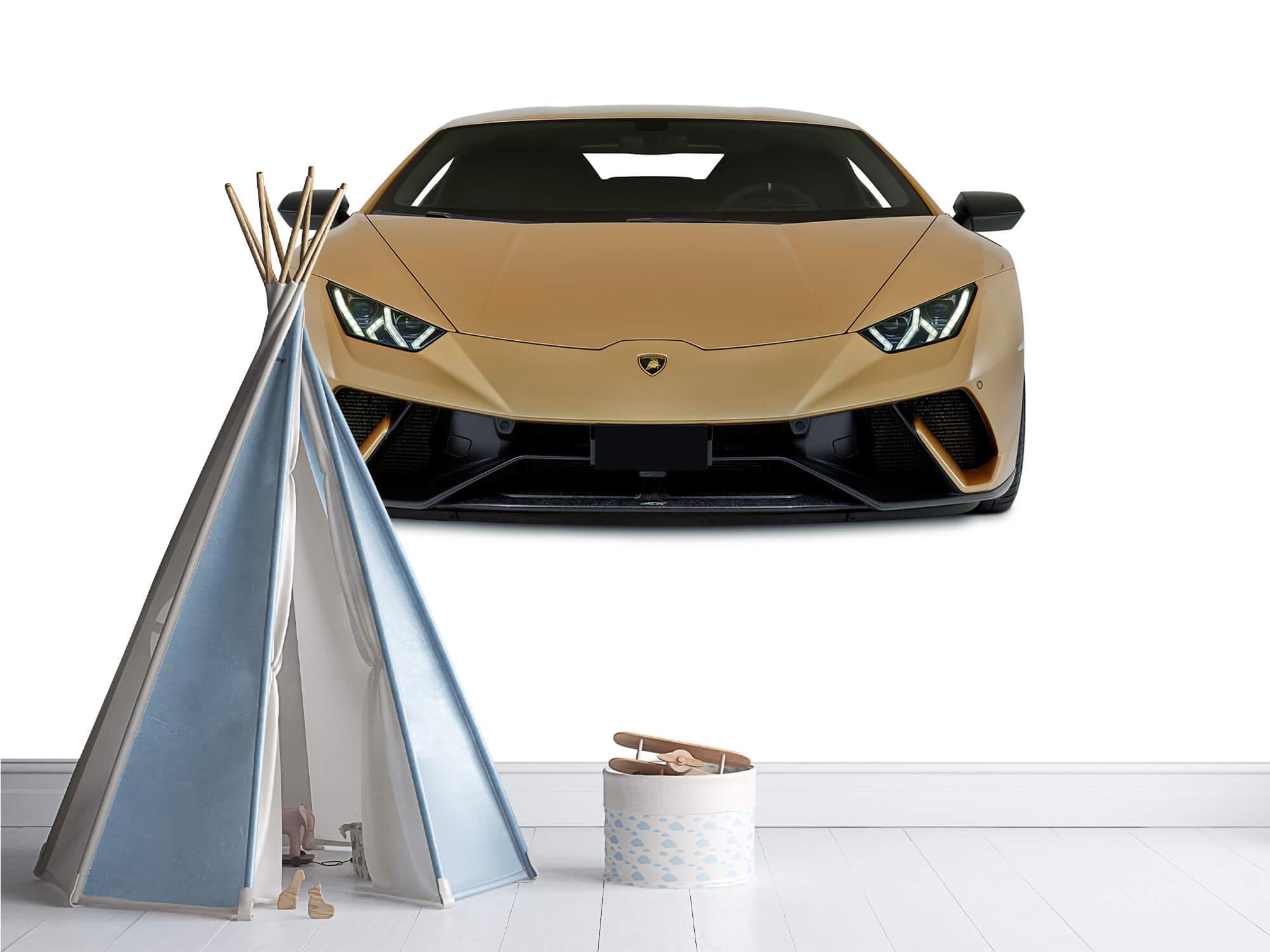 Wallpaper Lamborghini Huracán - Framsida, vit 9