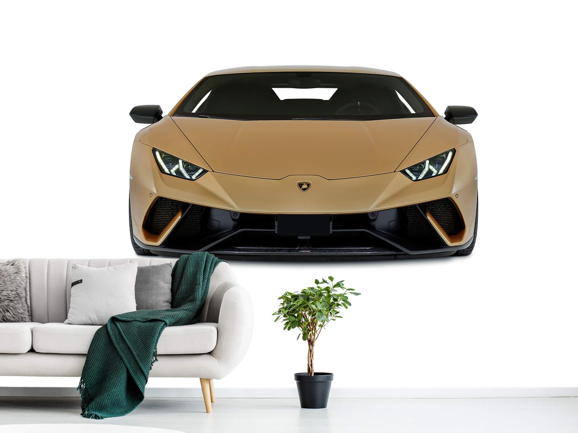 Wallpaper Lamborghini Huracán - Framsida, vit 10