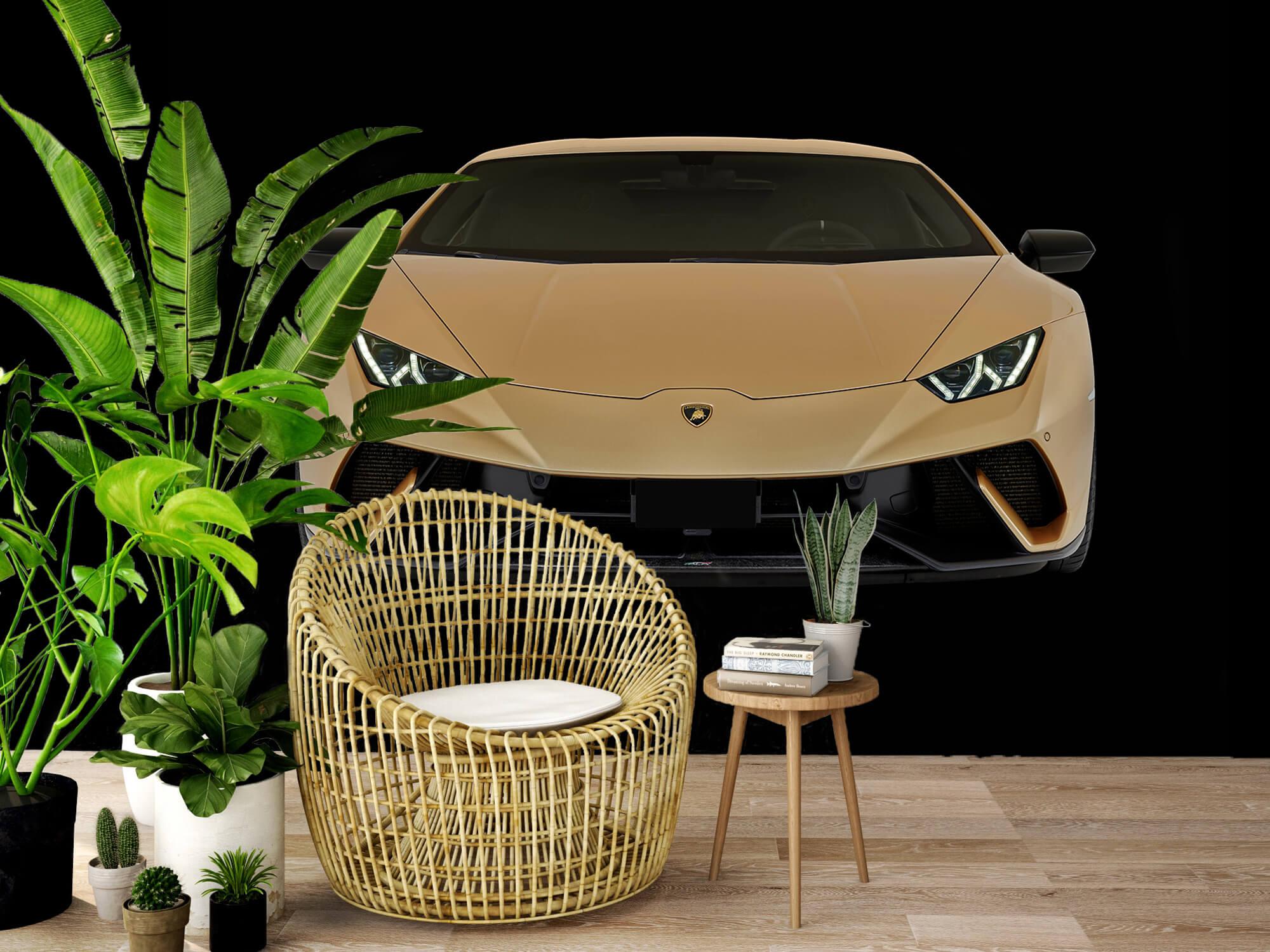 Wallpaper Lamborghini Huracán - Fram, svart 7