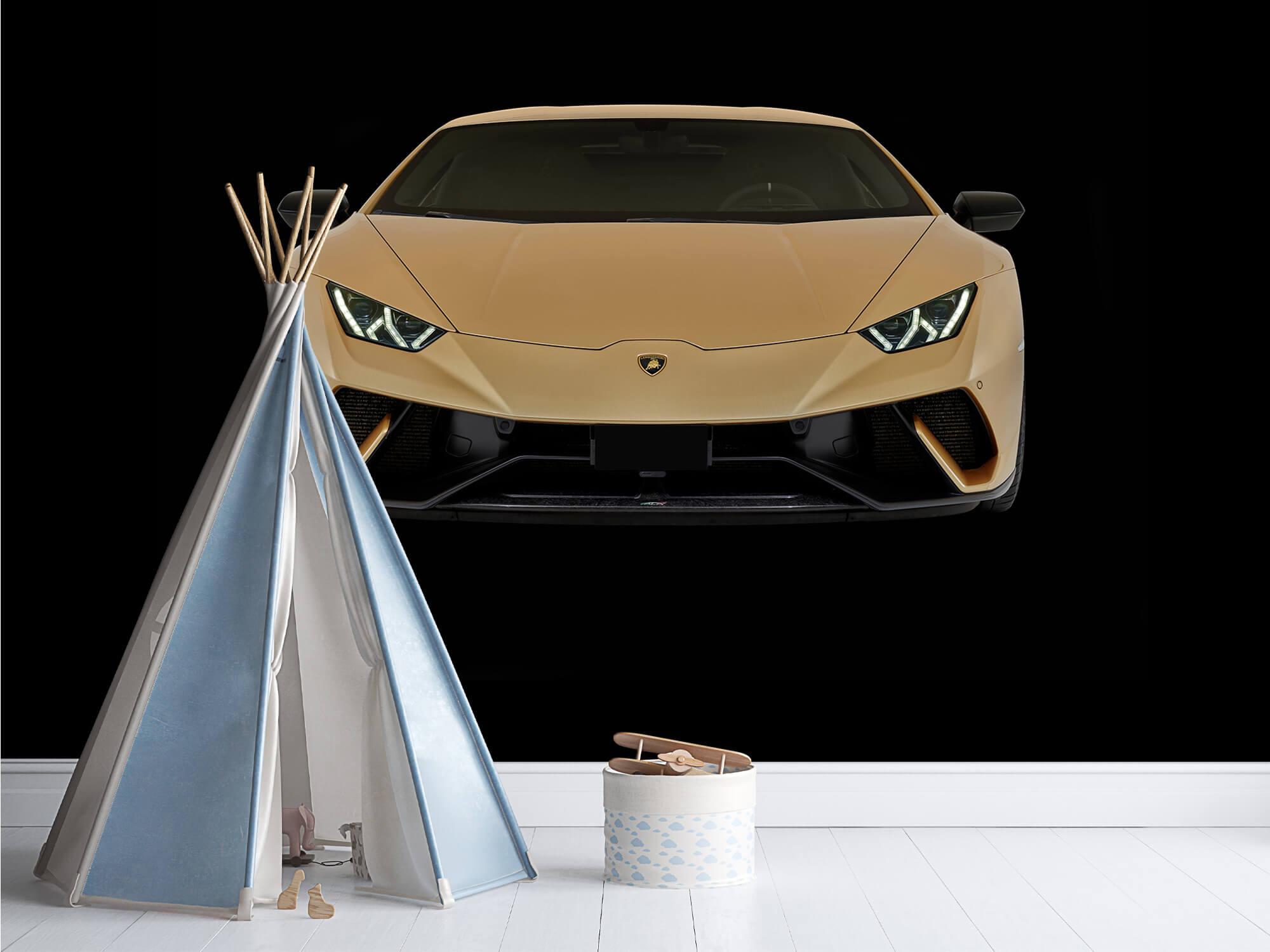 Wallpaper Lamborghini Huracán - Fram, svart 13
