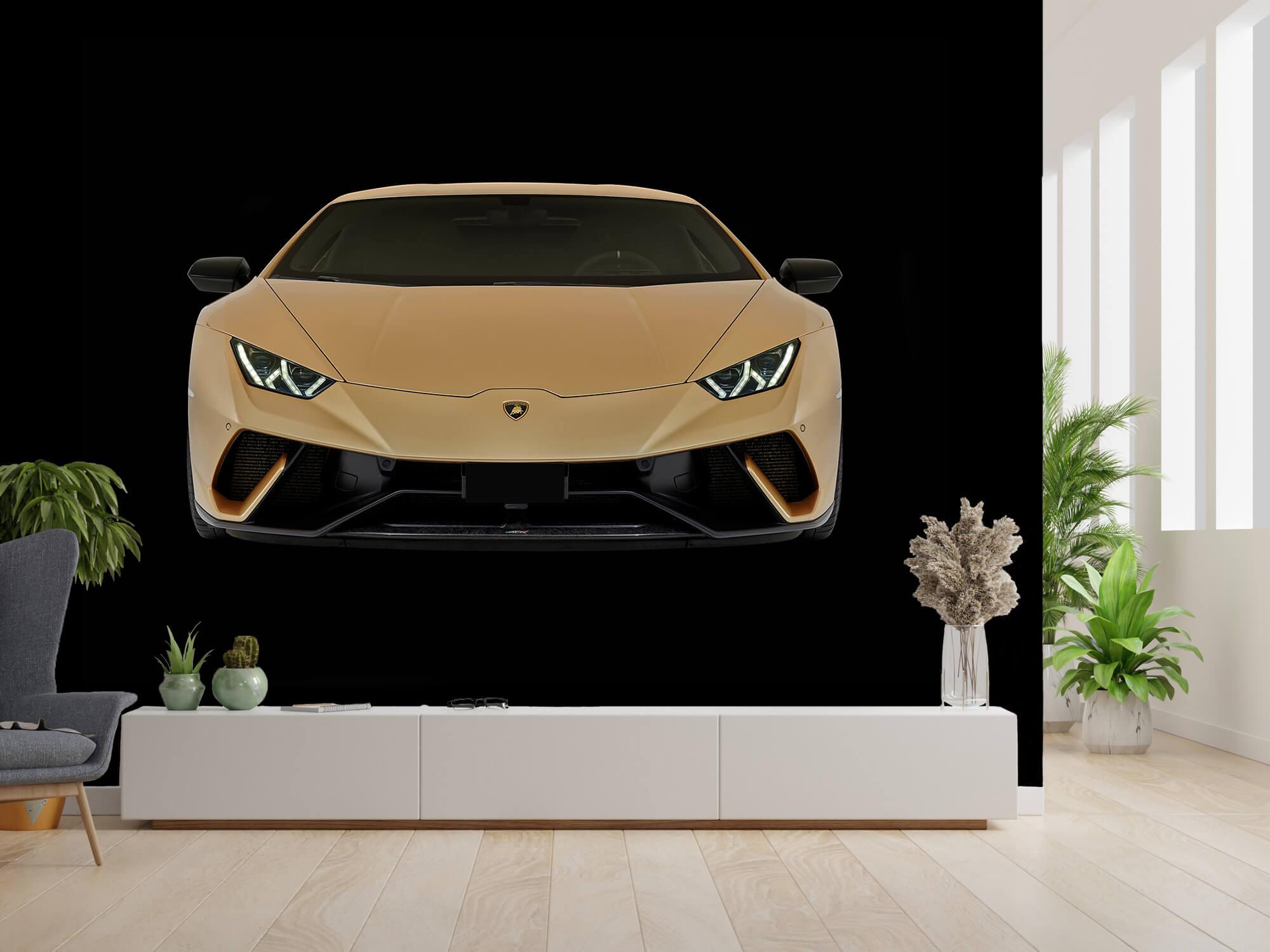 Wallpaper Lamborghini Huracán - Fram, svart 2