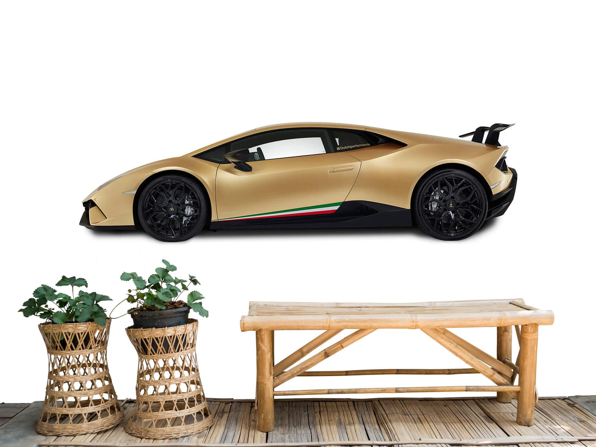 Wallpaper Lamborghini Huracán - Sida, vit 7