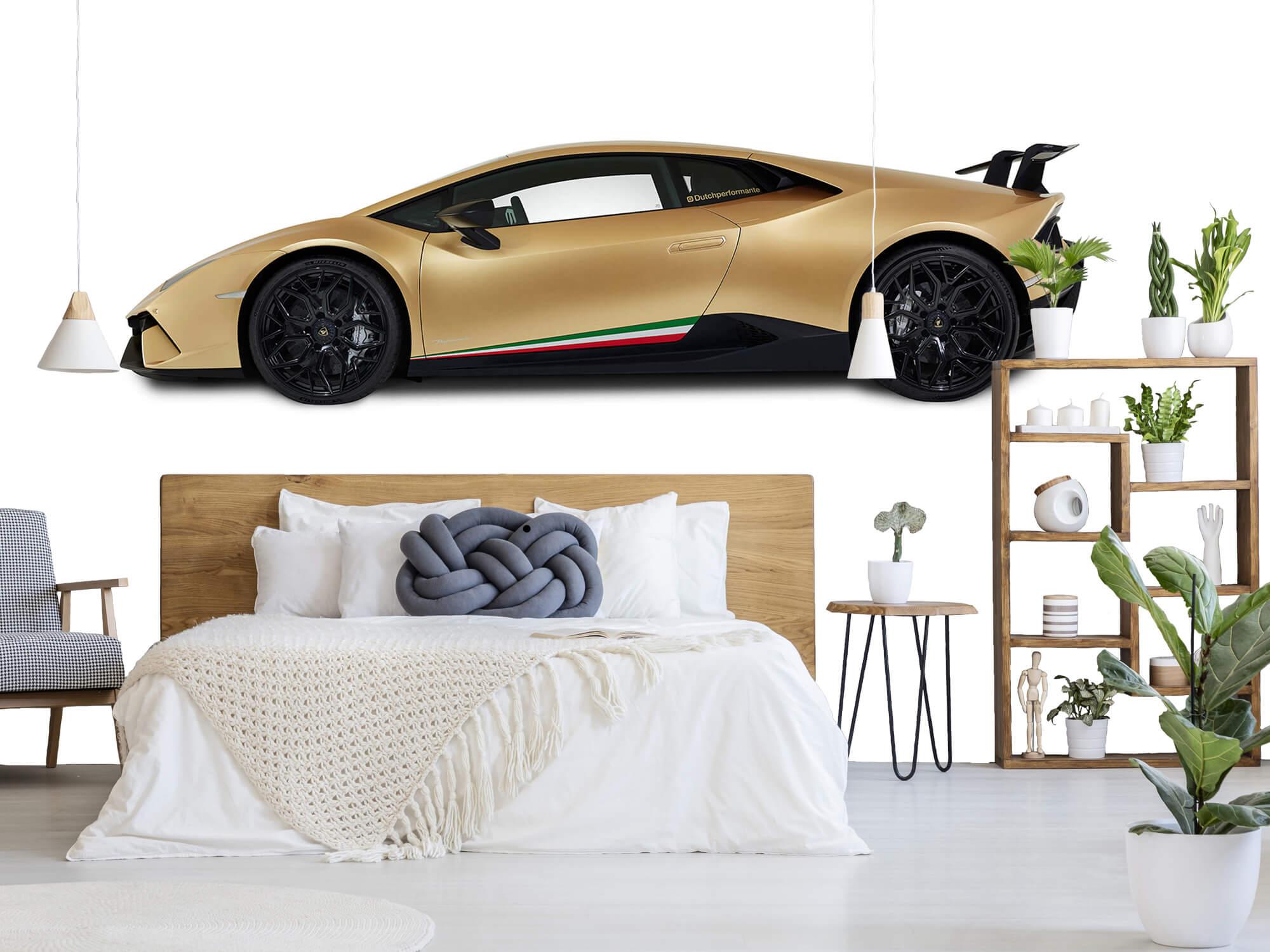 Wallpaper Lamborghini Huracán - Sida, vit 8