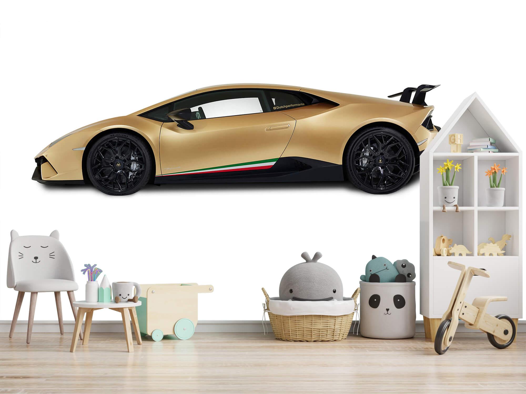Wallpaper Lamborghini Huracán - Sida, vit 10