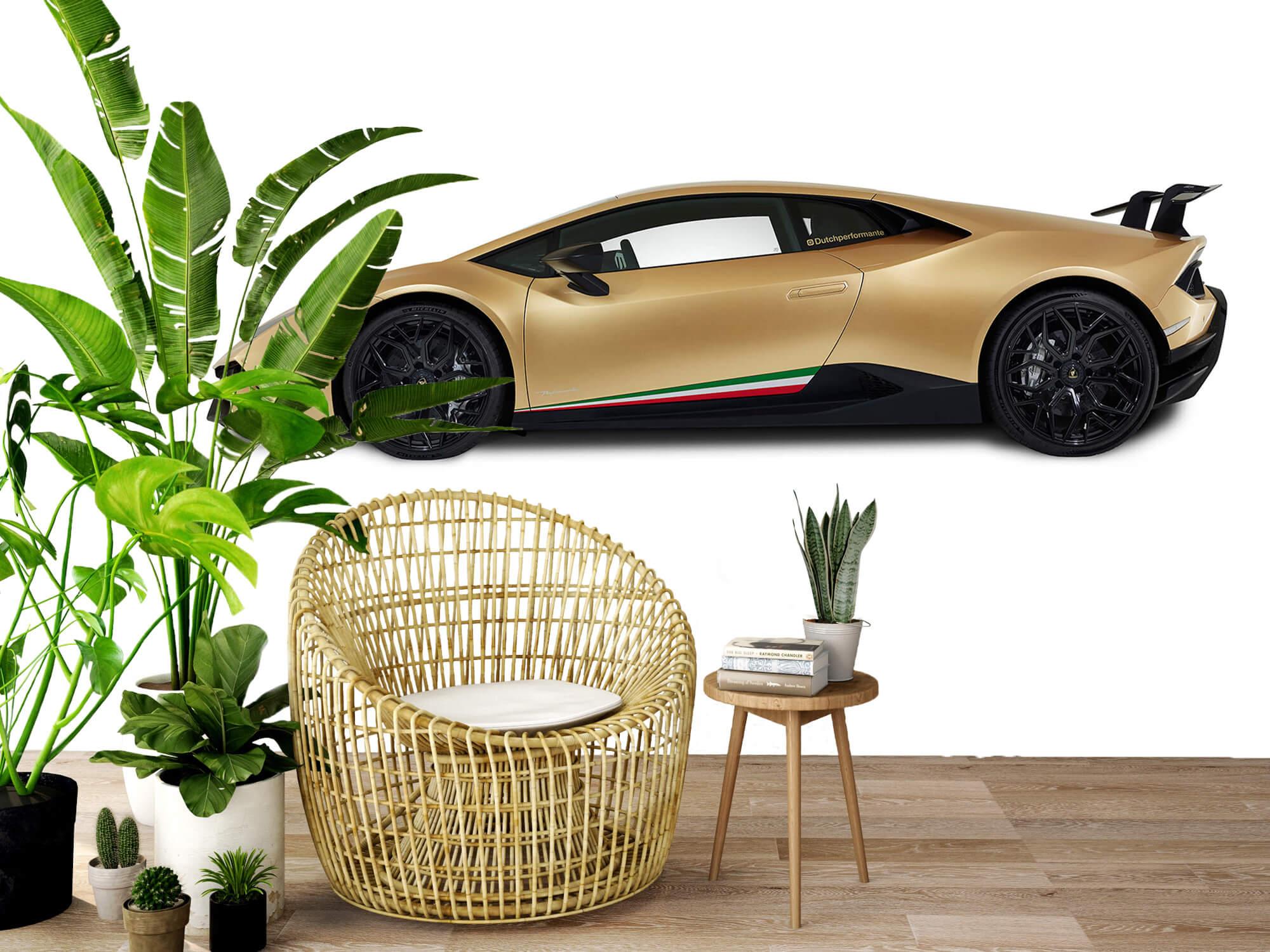 Wallpaper Lamborghini Huracán - Sida, vit 9