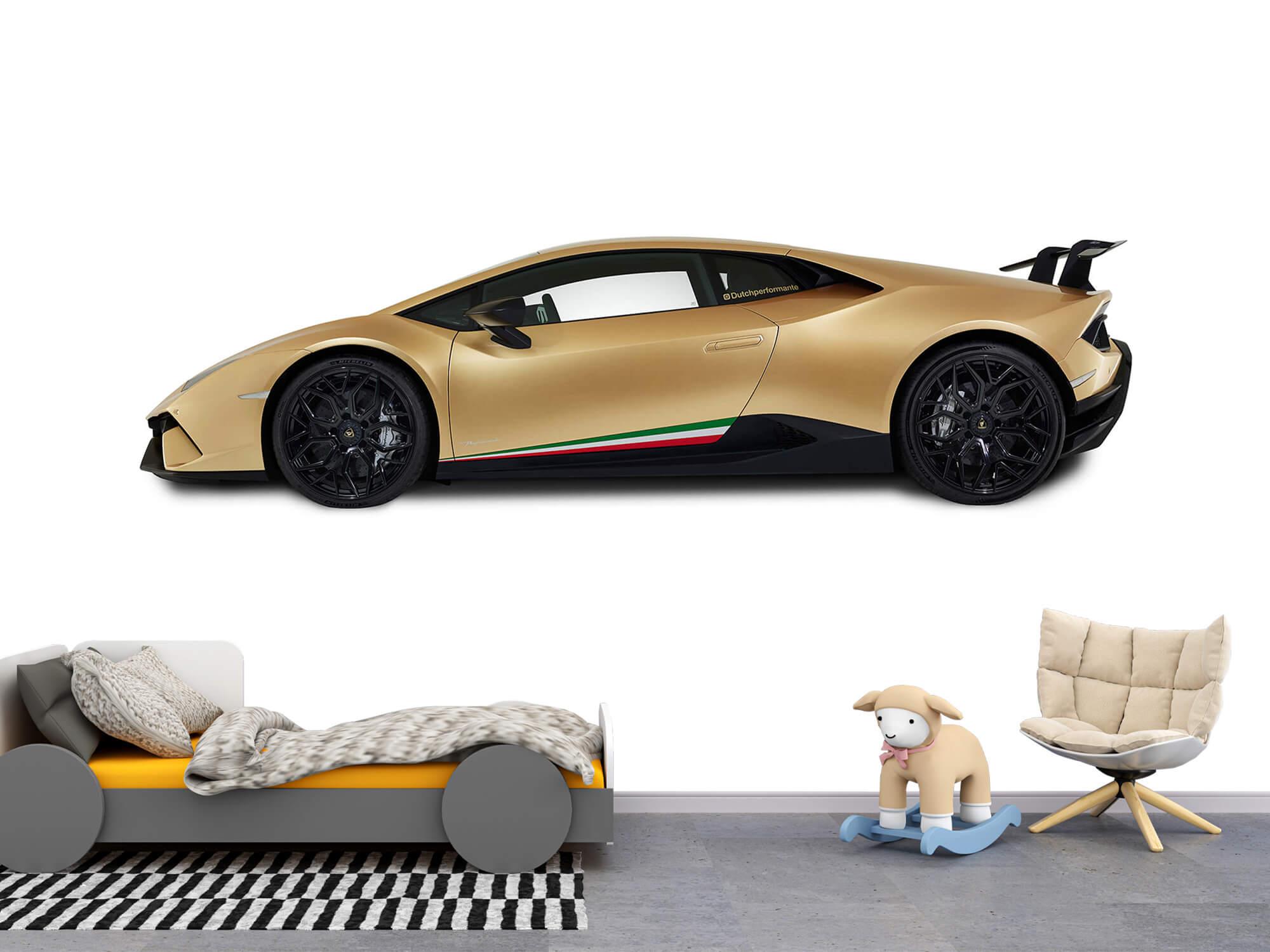 Wallpaper Lamborghini Huracán - Sida, vit 11