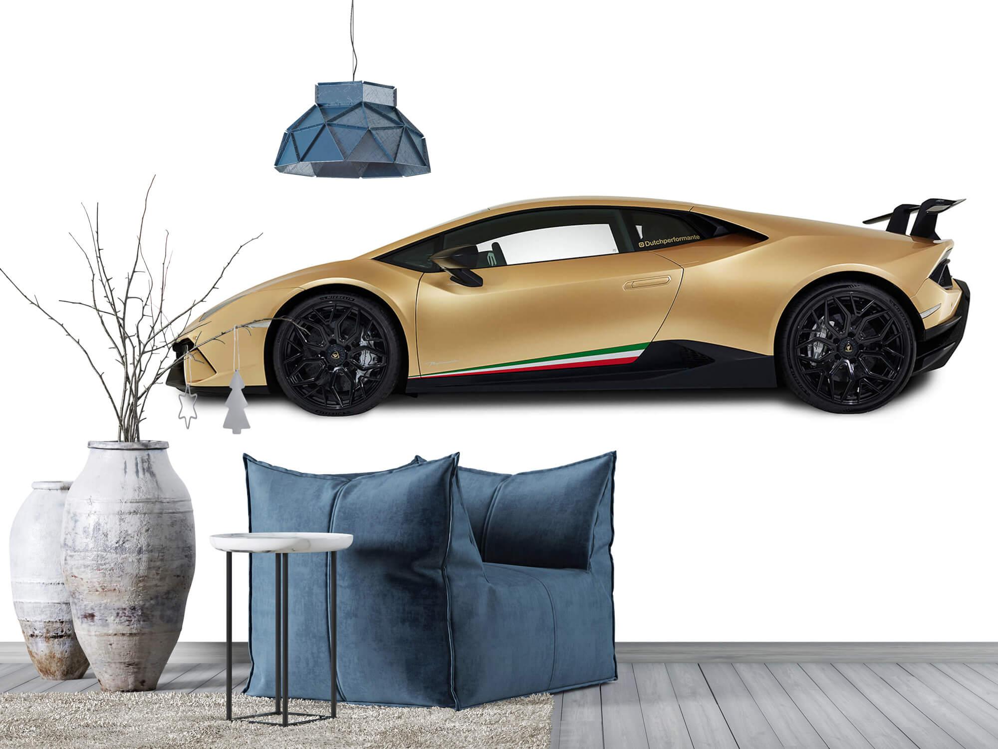 Wallpaper Lamborghini Huracán - Sida, vit 12