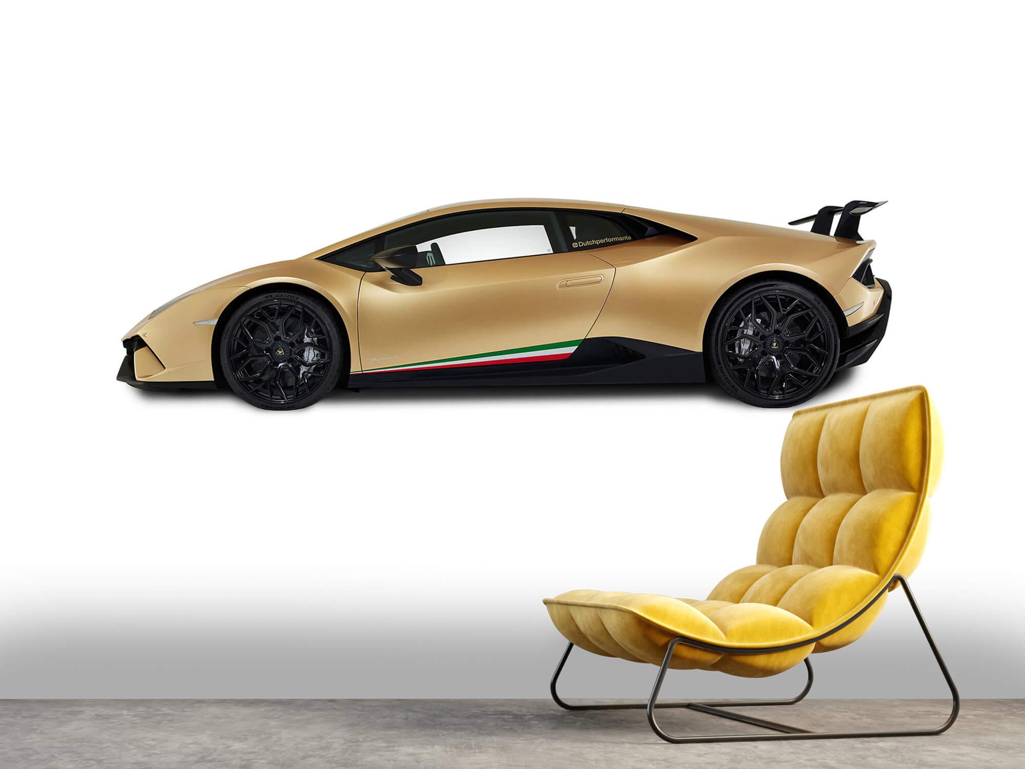 Wallpaper Lamborghini Huracán - Sida, vit 2