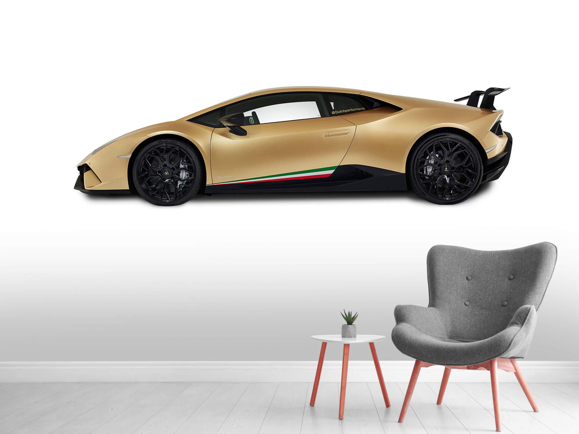 Wallpaper Lamborghini Huracán - Sida, vit 5