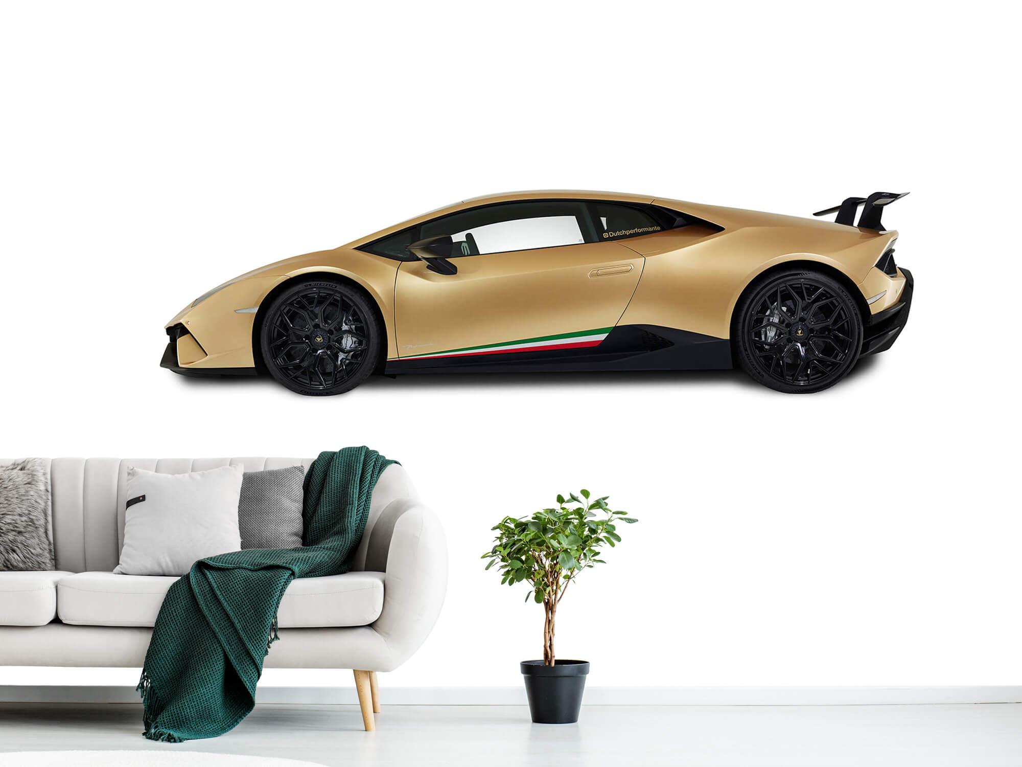 Wallpaper Lamborghini Huracán - Sida, vit 1