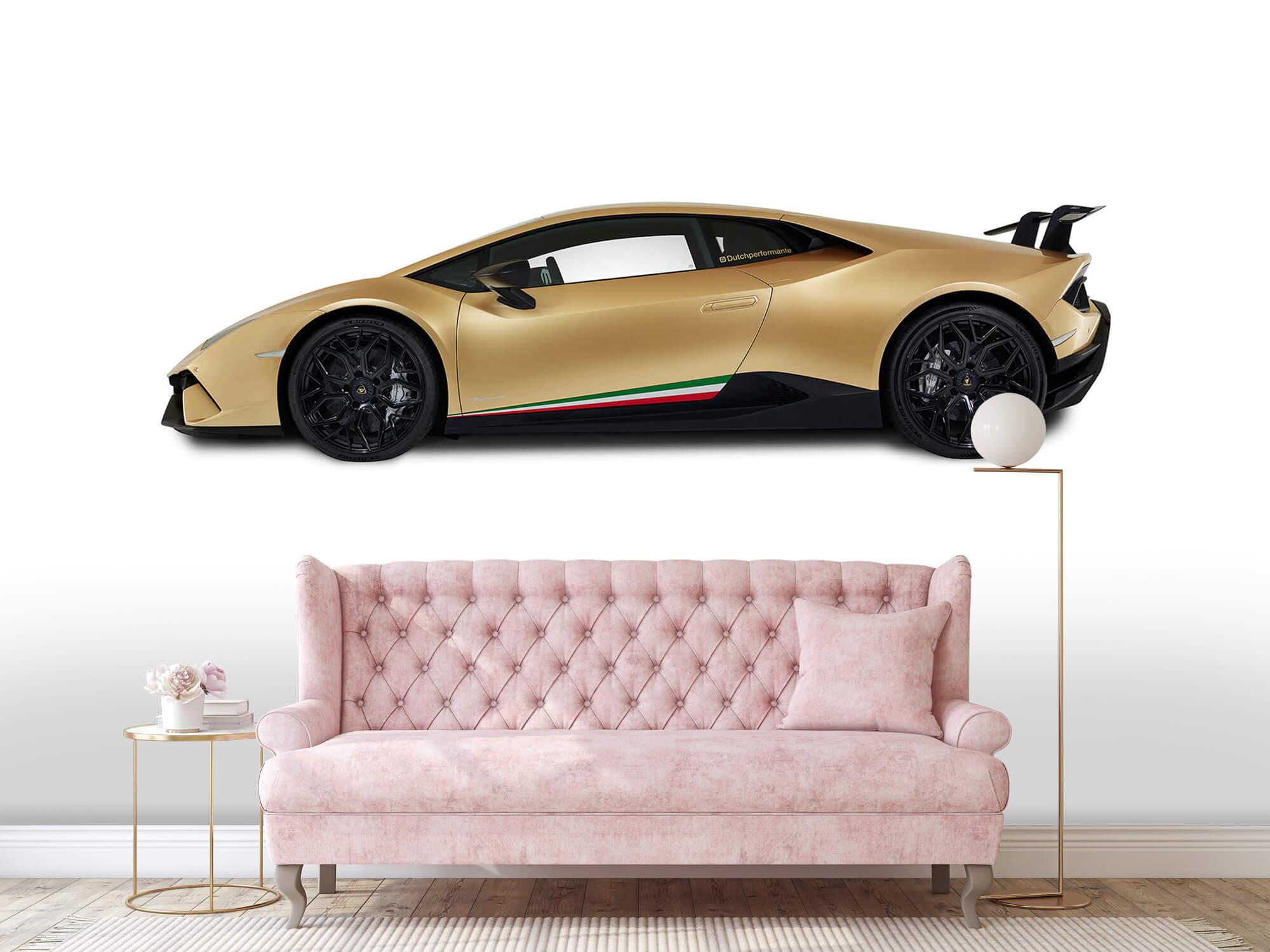 Wallpaper Lamborghini Huracán - Sida, vit 13