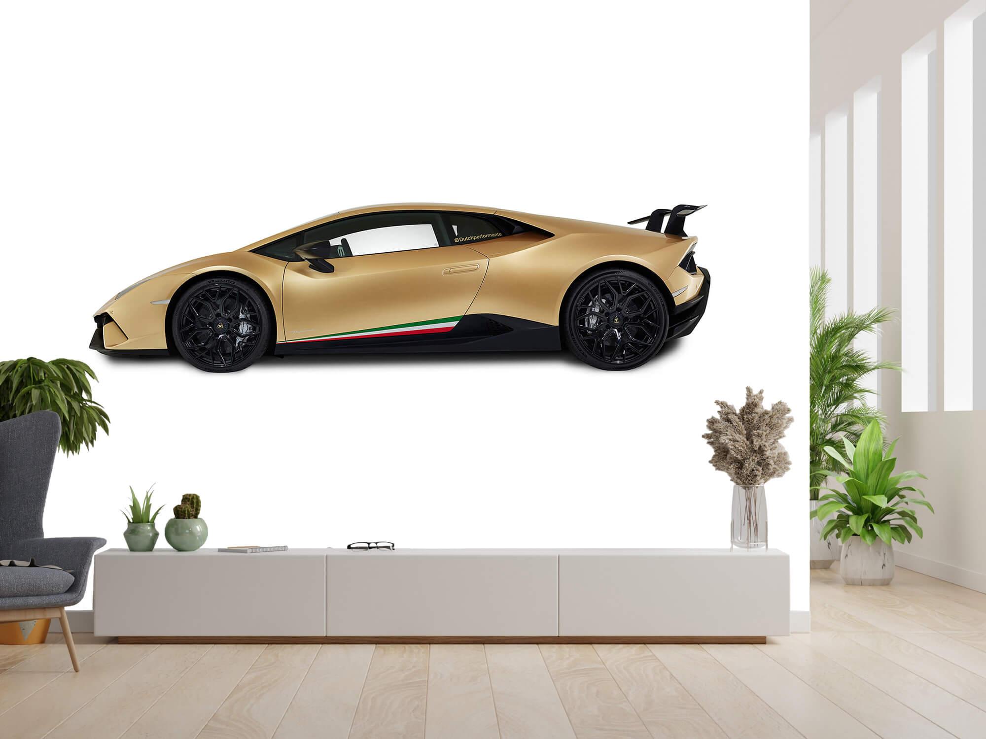 Wallpaper Lamborghini Huracán - Sida, vit 6
