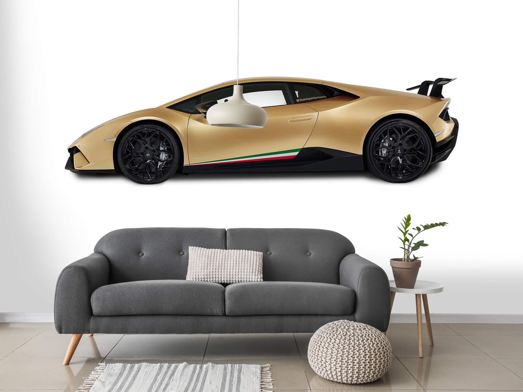 Wallpaper Lamborghini Huracán - Sida, vit 15