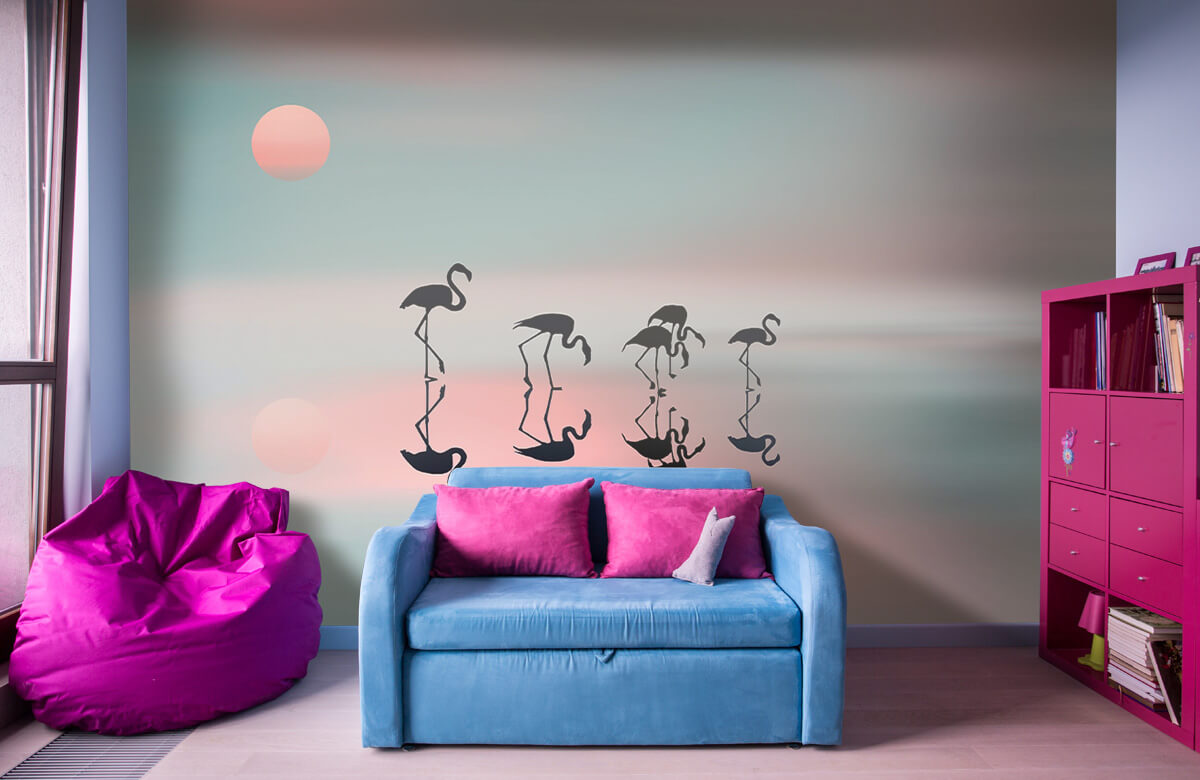 Effecten Family flamingos 1
