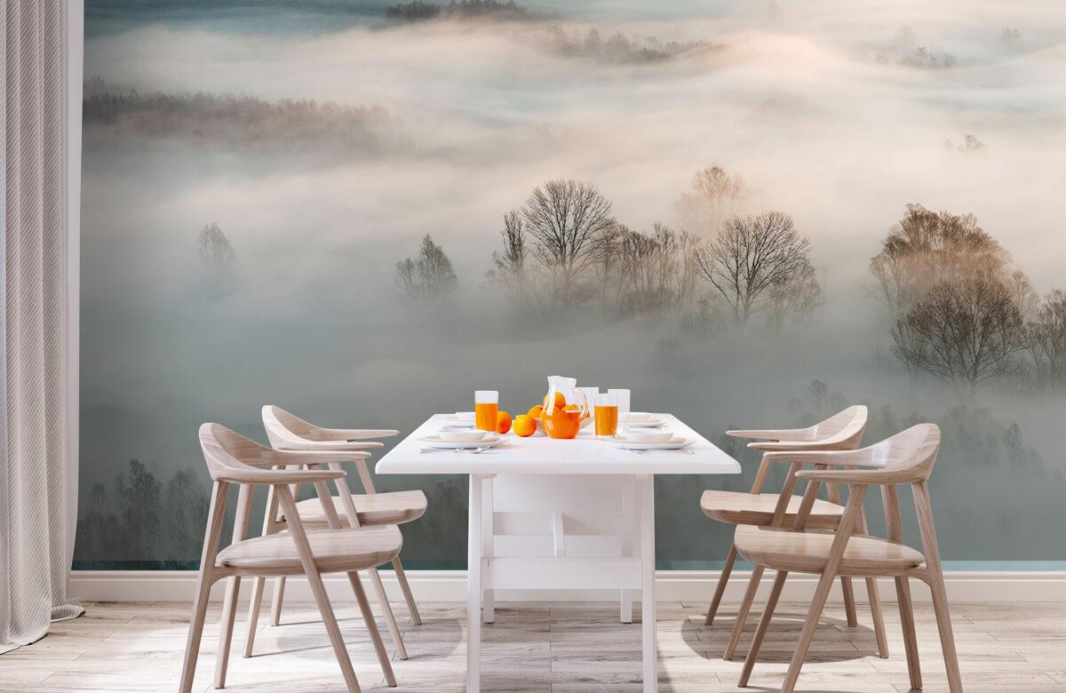 Landschap Winter fog 2