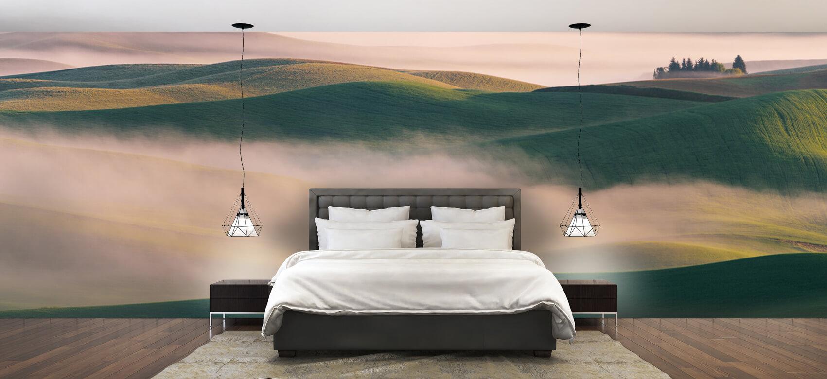 Landschap Dream Land in Morning Mist 1