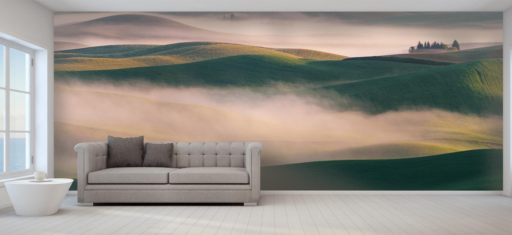 Landschap Dream Land in Morning Mist 8