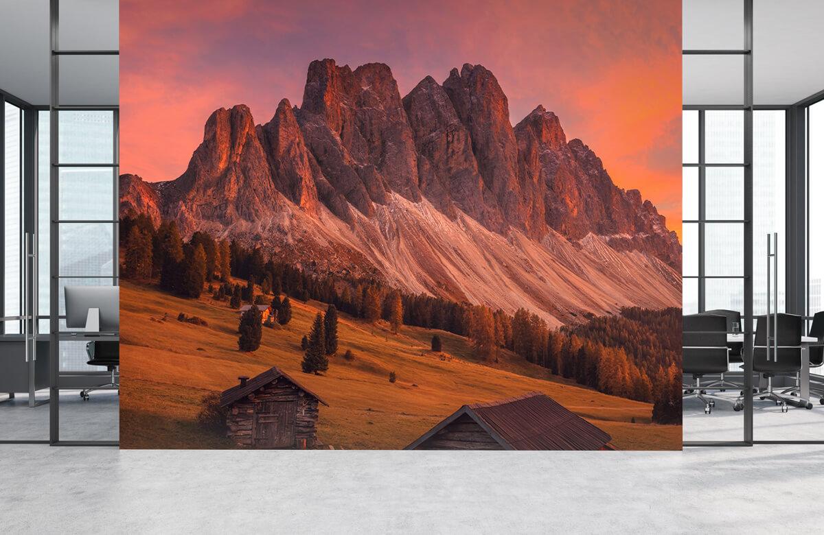 Landscape Cabins In The Dolomites 7