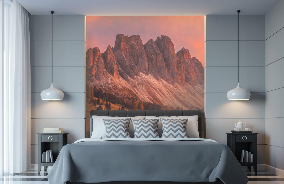 Landscape Cabins In The Dolomites 2