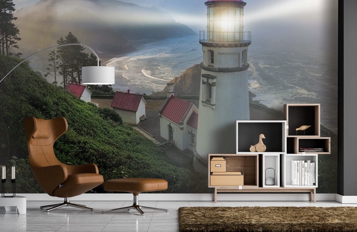 Architecture Heceta Head Lighthouse 7