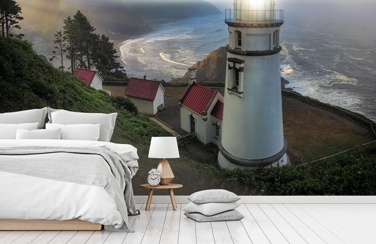 Architecture Heceta Head Lighthouse 11