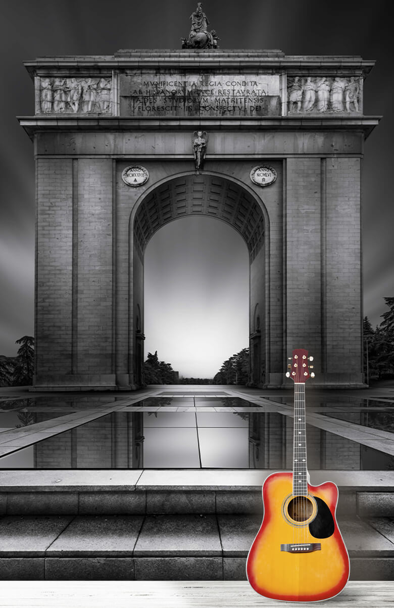 Architecture Arch of Moncloa 1