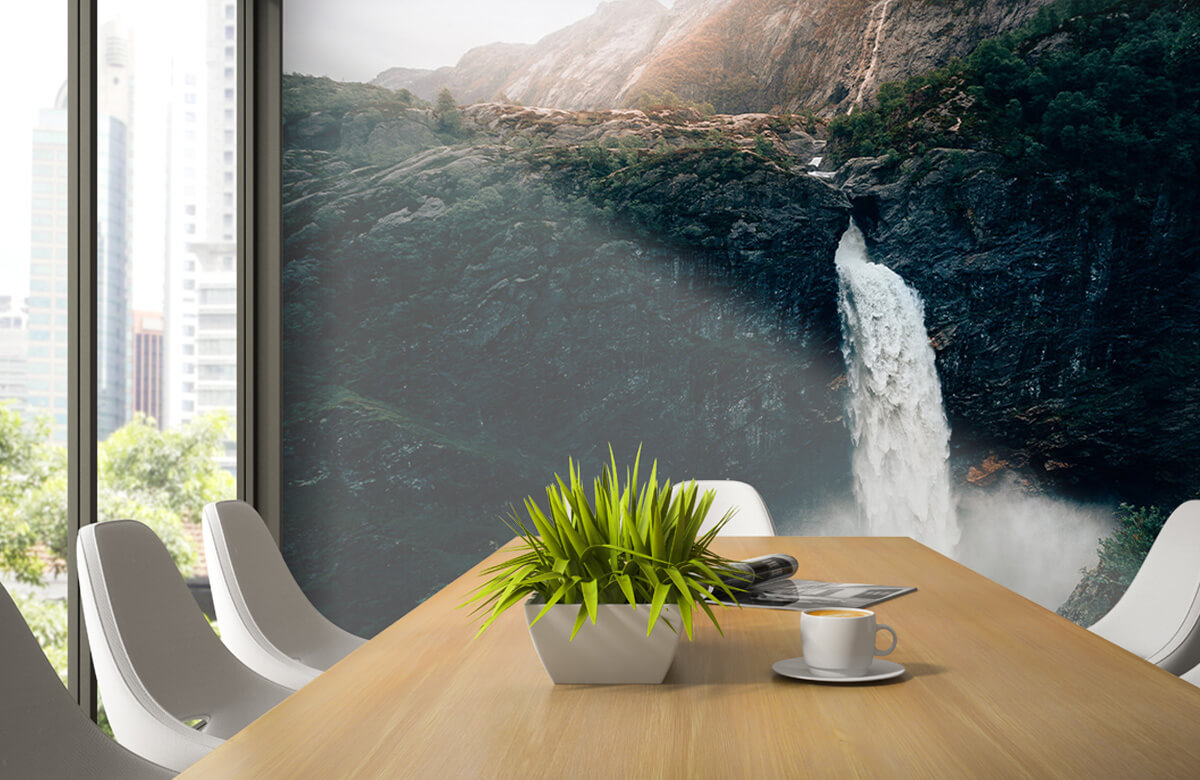 Wallpaper Imponerande vattenfall 6