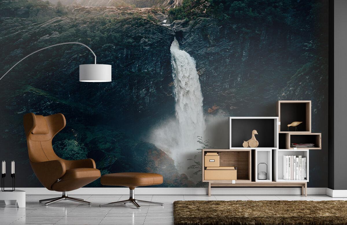 Wallpaper Imponerande vattenfall 7
