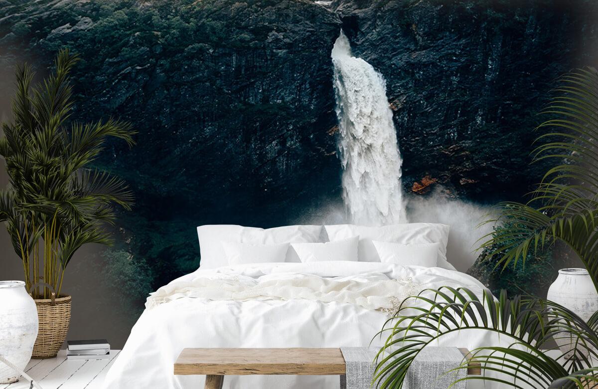 Wallpaper Imponerande vattenfall 8