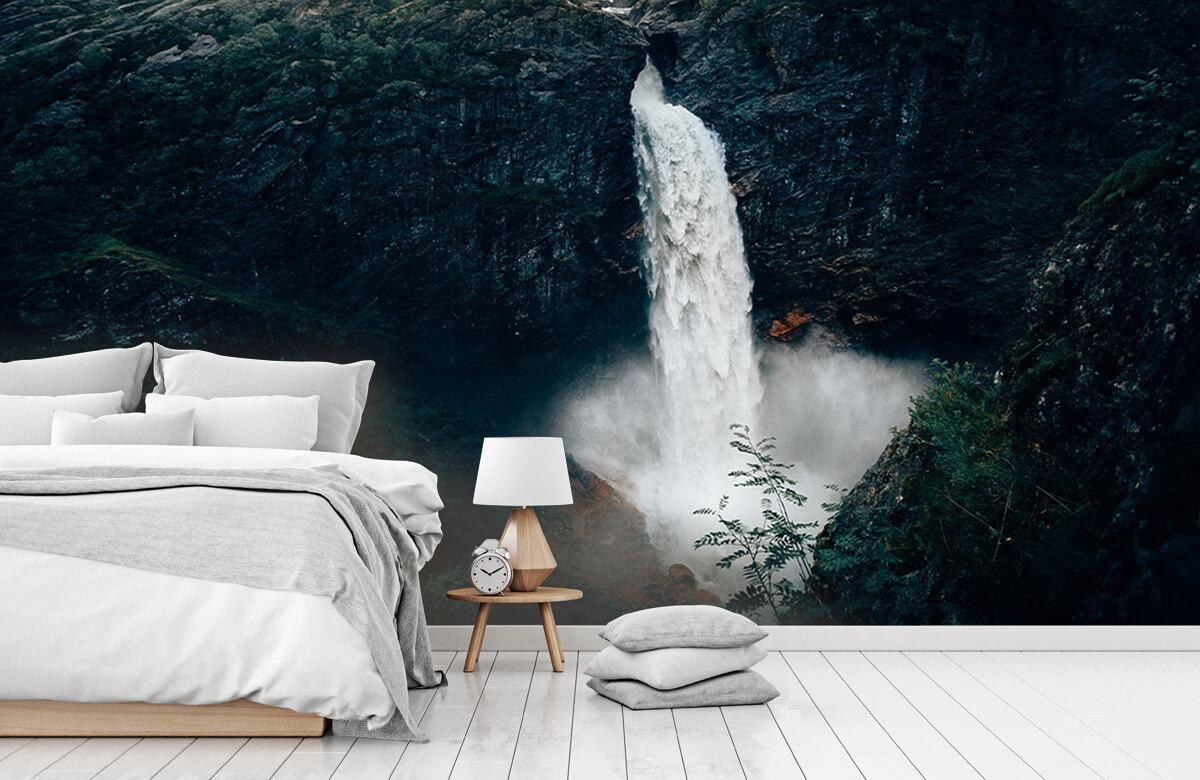 Wallpaper Imponerande vattenfall 2