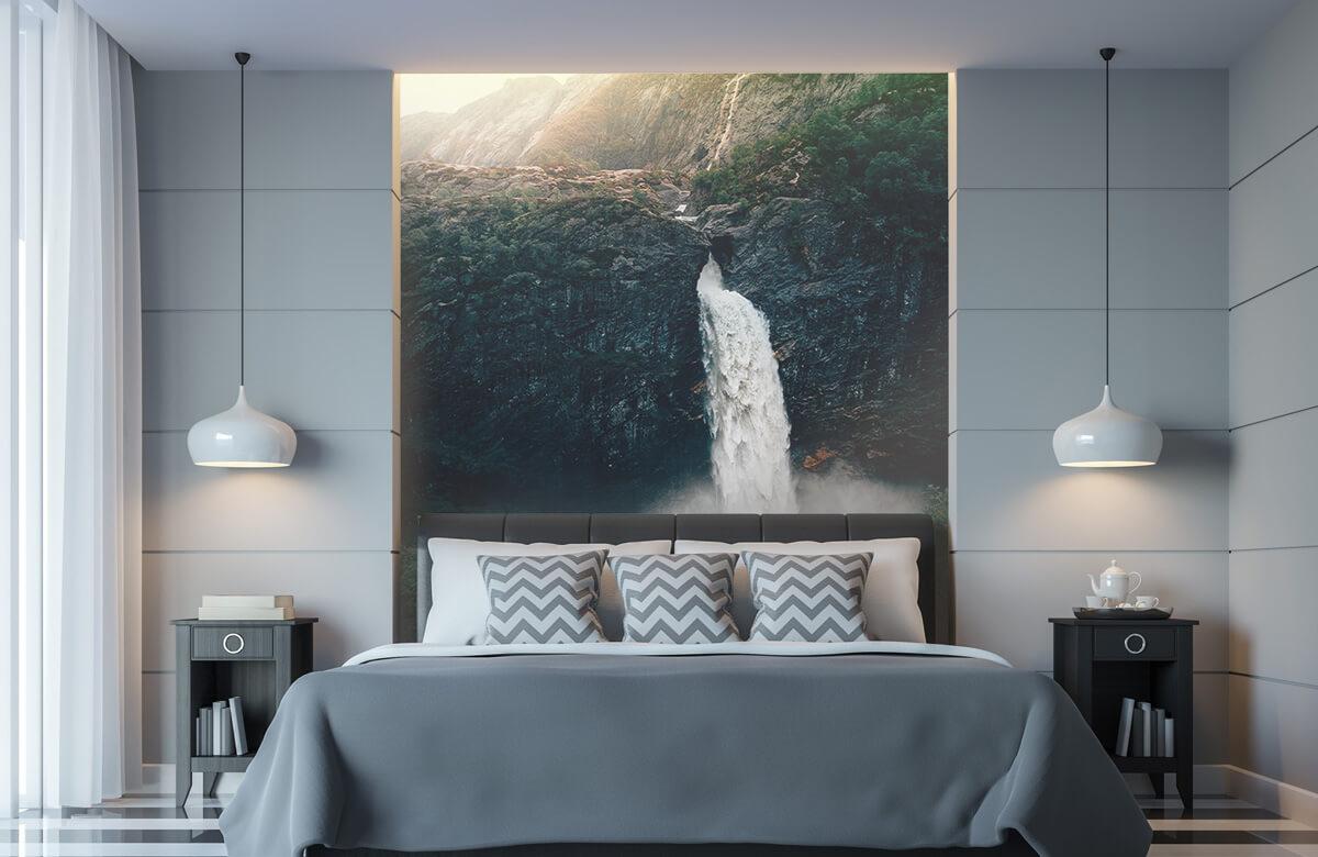 Wallpaper Imponerande vattenfall 11