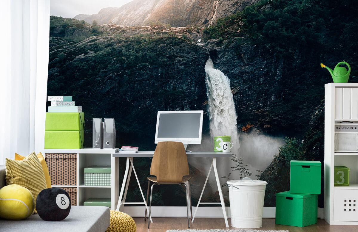 Wallpaper Imponerande vattenfall 10