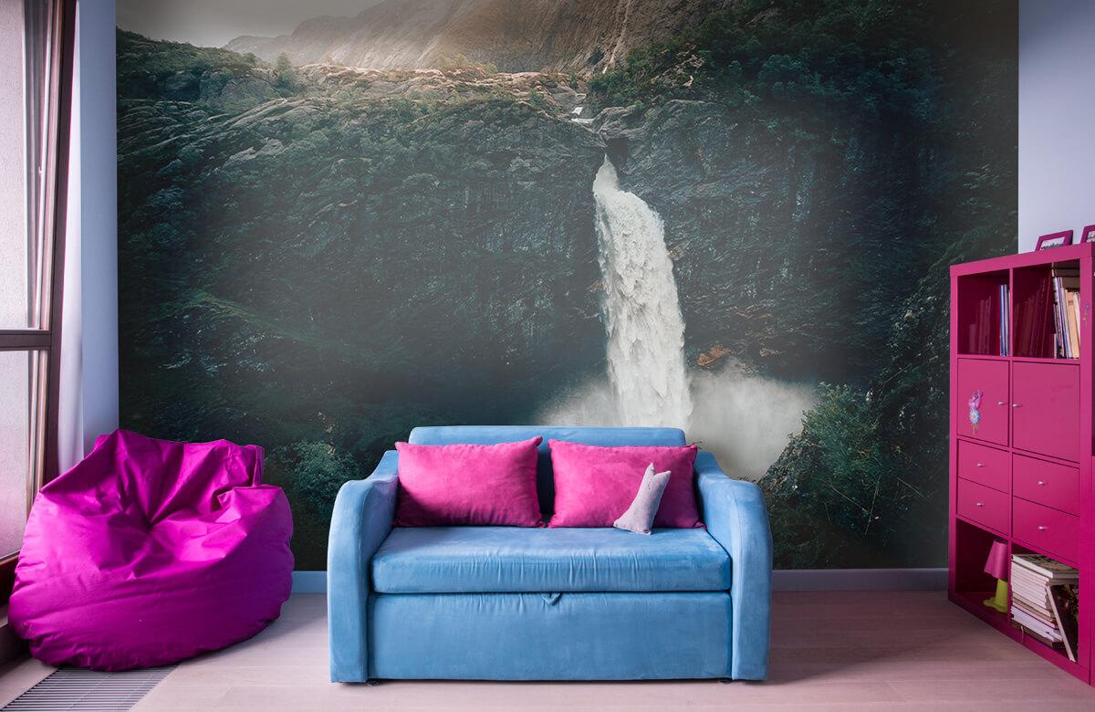 Wallpaper Imponerande vattenfall 3