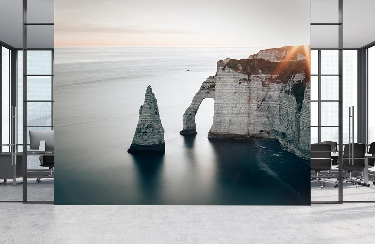 Wallpaper Morgonsol på kusten 3